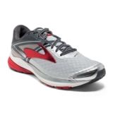 Brooks Ravenna 8 Men's Silver/Anthracite/Red
