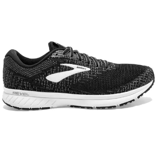 Brooks Revel 3 Men's Black /Blackened Pearl
