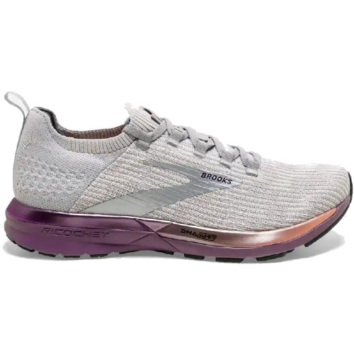 Brooks Ricochet 2 Women's Grey/Cantaloupe/Grape