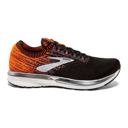 Brooks Ricochet Men's Black/Orange/Ebony