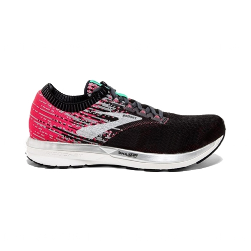 Brooks Ricochet Women's Pink/Black/Aqua