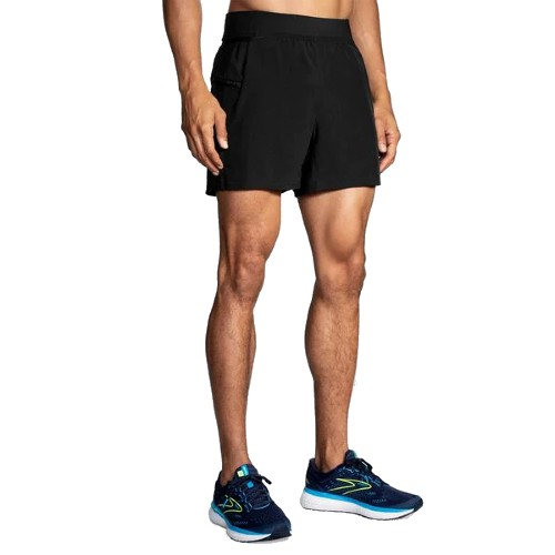 "Brooks Sherpa 5"" 2 in 1 Short Men's Black"