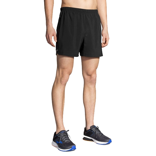 "Brooks Sherpa 5"" Short Men's Black"