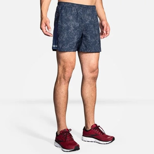 "Brooks Sherpa 5"" Short Men's Indigo Mineral"