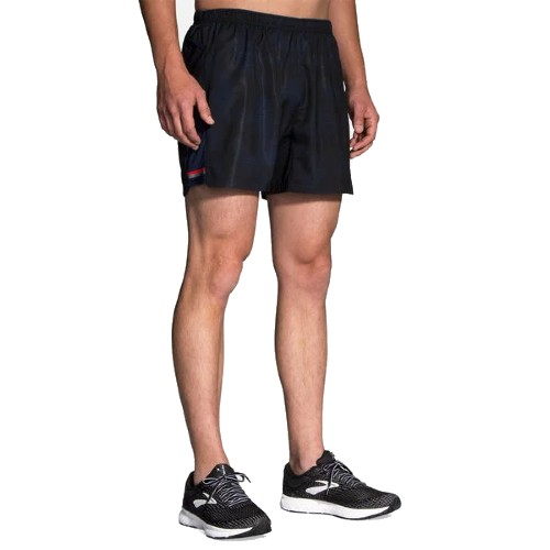 "Brooks Sherpa 5"" Short Men's Navy Haze"