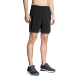 "Brooks Sherpa 7"" 2 in 1 Short Men's Black"