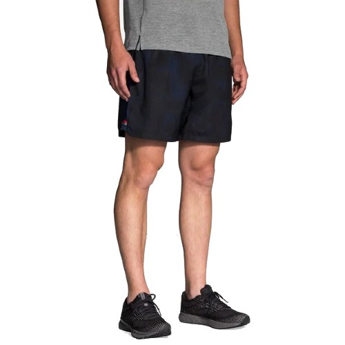 "Brooks Sherpa 7"" 2 in 1 Short Men's Navy Haze"