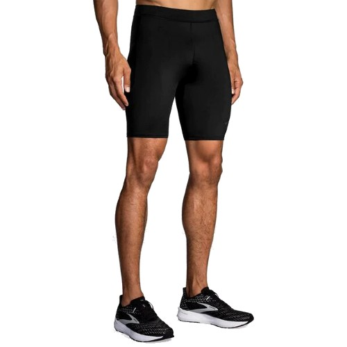 "Brooks Source 9"" Short Tight Men's Black"