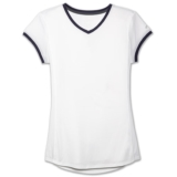 Brooks Stealth Short Sleeve Women's White/Navy