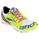Brooks T7 Racer Unisex White/Shocking Orange
