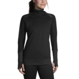 Brooks Threshold Longsleeve Women's Black/Heather Black