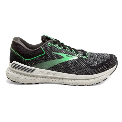 Brooks Transcend 7 Women's Black/Ebony/Green