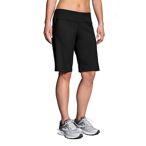 Brooks Venture Bermuda Short Women's Black