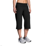 Brooks Venture Capri Women's Black