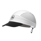 Buff Pack Run Cap Reflective Solid White