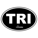 Bumper Sticker TRI Triathlon Bumper Sticker