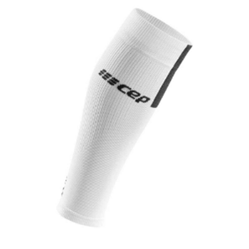 CEP Calf Sleeves 3.0 Men's White/Dark Grey