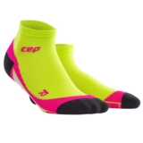 CEP Dynamic + Low Cut Socks Women's Lime/Pink