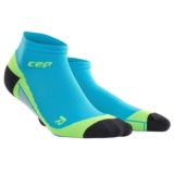 CEP Dynamic + Low Cut Socks Men's Hawaii Blue/Green