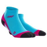 CEP Dynamic + Low Cut Socks Women's Hawaii Blue/Pink