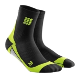 CEP Dynamic + Short Socks Men's Black/Green