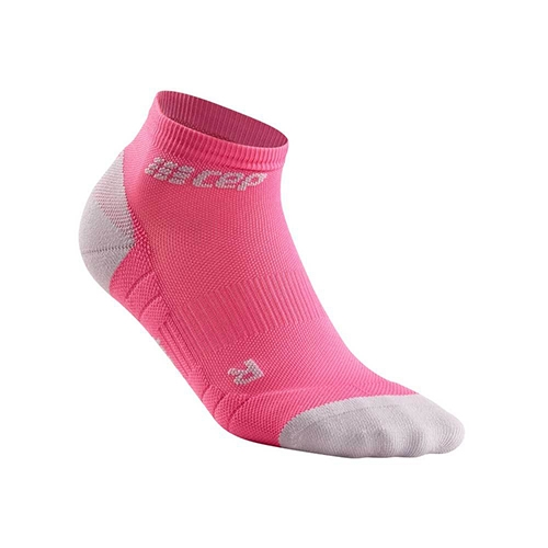 CEP Low Cut Socks 3.0 Women's Rose/Light Grey