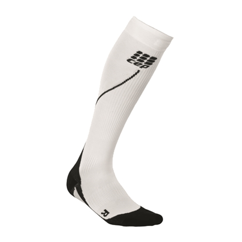 CEP Progressive + Run Sock 2.0 Women's White/Black