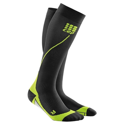 CEP Progressive + Run Sock 2.0 Men's Black/Green