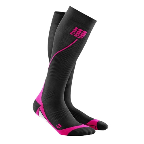 CEP Progressive + Run Sock 2.0 Women's Black/Pink