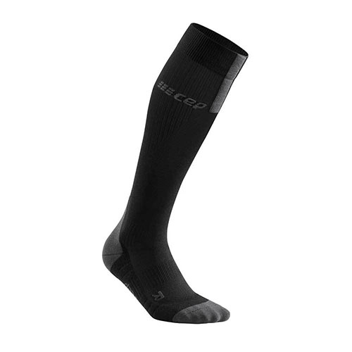 CEP Run Sock 3.0 Women's Black/Dark Grey