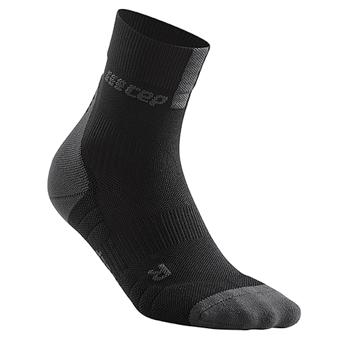 CEP Short Socks 3.0 Men's Black/Dark Grey