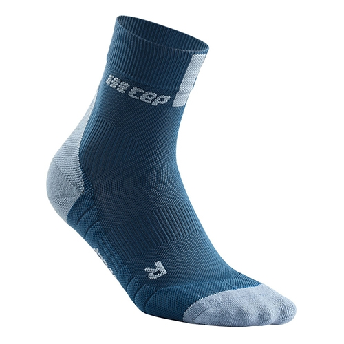 CEP Short Socks 3.0 Women's Blue/Grey
