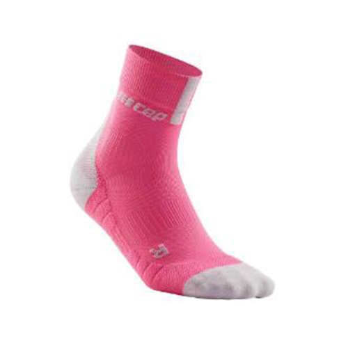 CEP Short Socks 3.0 Women's Rose/Light Grey