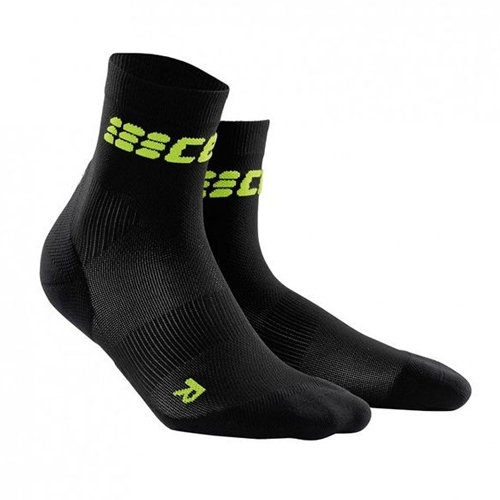CEP Ultralight Short Sock Men's Black/Green