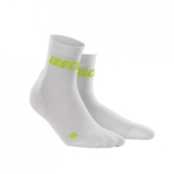 CEP Ultralight Short Sock Women's White/Green