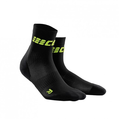 CEP Ultralight Short Sock Women's Black/Green