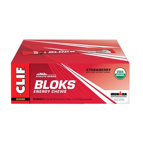 CLIF Bloks Case of 18 Strawberry