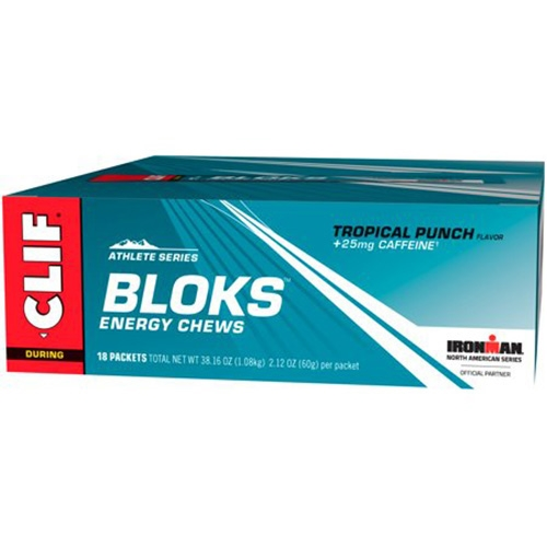 CLIF Bloks Case of 18 Tropical Punch