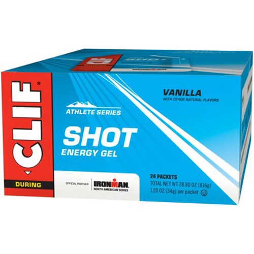 CLIF Shot Case of 24 Viva Vanilla