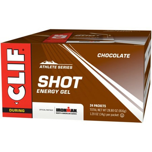 CLIF Shot Case of 24 Mmm...Chocolate