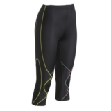 CW-X Expert 3/4 Tights Women's Black/YellowGreyPink