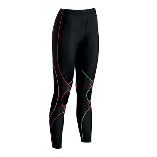 CW-X Expert Tights Women's Black/Rainbow