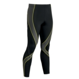 CW-X Pro Tights Men's Black/Grey/Yellow