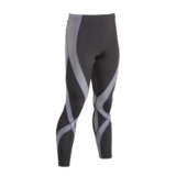 CW-X Pro Tights Men's Black/Light Grey/Blue