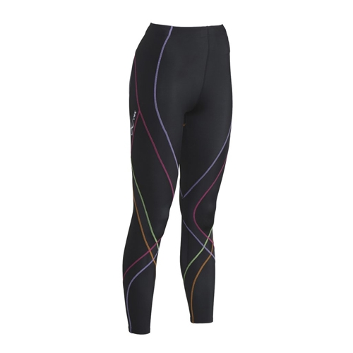 CW-X Pro Tights Women's Black/Rainbow