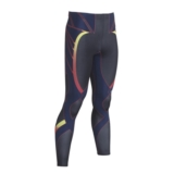 CW-X Revolution Tight Men's Black/YellowBlueRed