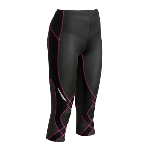 CW-X Stabilyx 3/4 Tights Women's Black/Raspberry