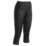 CW-X Stabilyx 3/4 Tights Women's Black/Polka-Dots