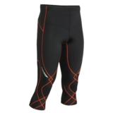 CW-X Stabilyx 3/4 Tights Men's Black/Orange