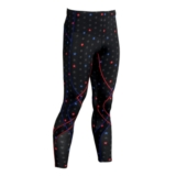 CW-X Stabilyx Tights Men's Black Stars/Red/Blue